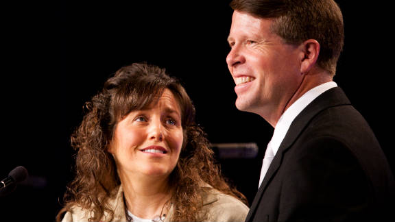 """Michelle and Jim Bob Duggar, stars of TLC's """"19 Kids and Counting,"""" are expecting their 20th child this spring."""