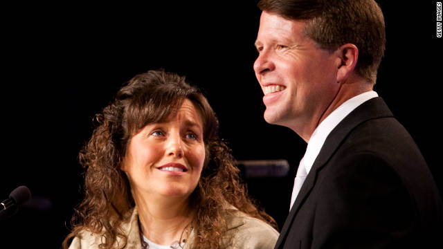 "The Duggars, Michelle and Jim Bob, are devout Christians and have left the number of children they have ""up to God."""