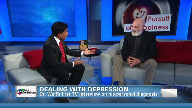 Dr. Weil discuses fighting his depression