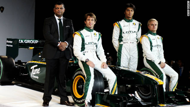 Team Lotus will have the experience of Steve Nielsen in their set-up next season.