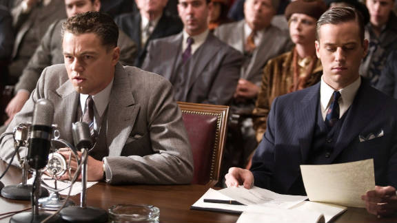 Leonardo DiCaprio is at less than his best as the rather unattractive G-Man and his accent is needless.