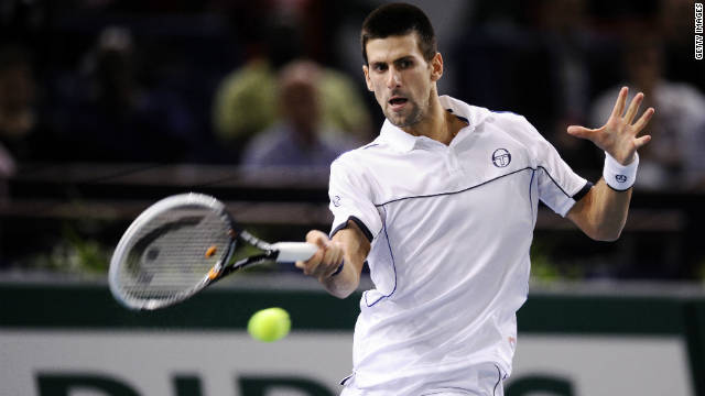 By playing on Wednesday, Novak Djokovic ensured he will pick up a bonus check for $1.6 million.