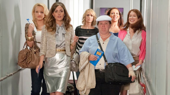 """""""Bridesmaids"""" has amassed $40 million in domestic grosses for viewings that weren"""