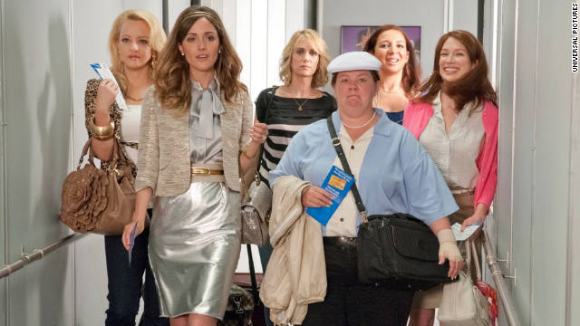 """Bridesmaids"" has amassed $40 million in domestic grosses for viewings that weren't from DVD or Blu-ray."