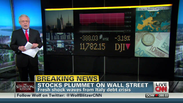 Erin Burnett on stock market drop