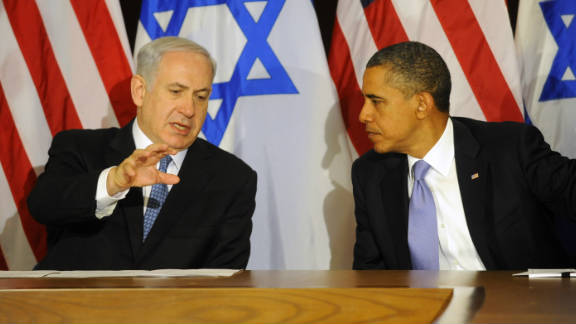 President Obama meets with Israeli Prime Minister Netanyahu during the U.N. General Assembly Session on September 21.