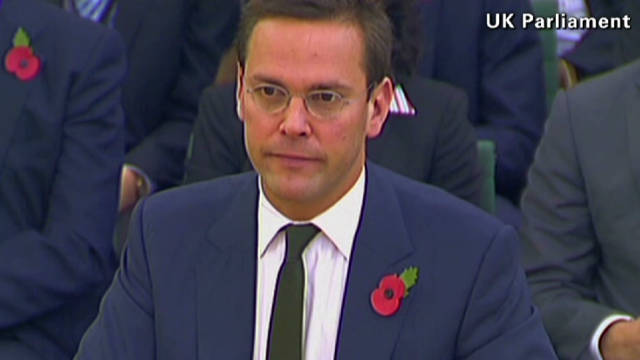 James Murdoch called a 'mafia boss'