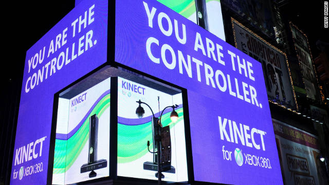 2010: Xbox Kinect unveiled at E3 Expo