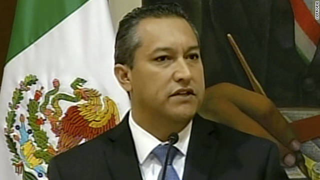 Mexico interior minister killed in crash