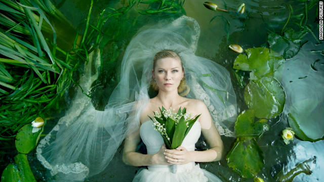 "Kirsten Dunst plays a troubled bride in the film ""Meloncholia."""