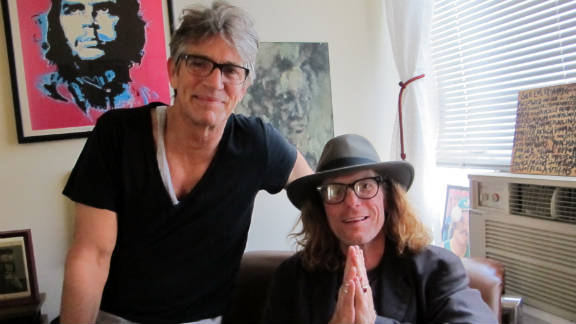 "Actor Eric Roberts, left, calls sobriety counselor Bob Forrest ""Mr. Funky."""