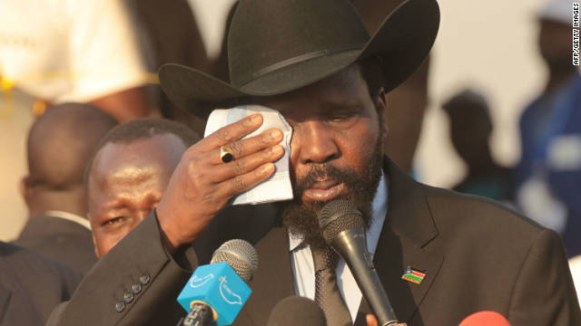 "South Sudan's President Saliva Kiir Mayardit said Sudan was threatening the sovereignty of South Sudan ""through military invasion."""
