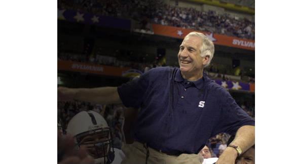 A grand jury report details alleged child sex abuse  by former assistant coach Jerry Sandusky between 1994 and 2009.