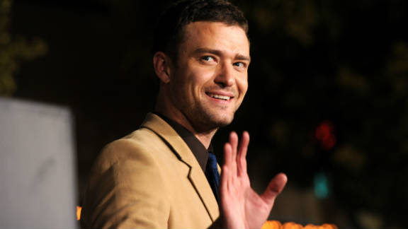 Justin Timberlake arrives at the premiere of Regency Enterprises' 'In Time' on October 20, 2011 in Westwood, California.