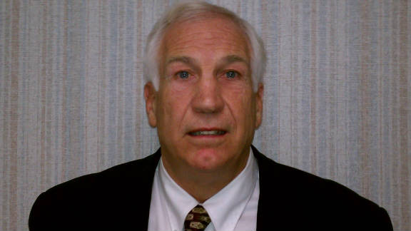 Jerry Sandusky, 67, is charged with 40 counts related to the alleged sexual abuse of eight young boys.