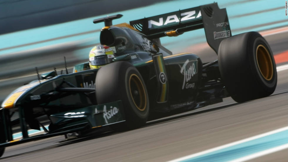 Rodolfo Gonzalez took to the track for CNN-sponsored Team Lotus on Tuesday. The 25-year-old Venezuelan competes in the GP2 Asia series and is hoping to emulate compatriot Pastor Maldonado by moving into Formula One.