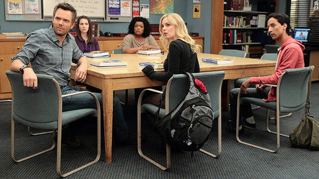 """Community"" is returning to NBC's Thursday night lineup."