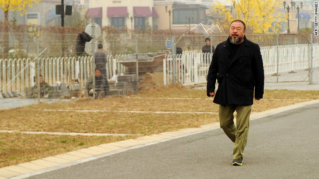 2011: Ai Weiwei posts tax bill online