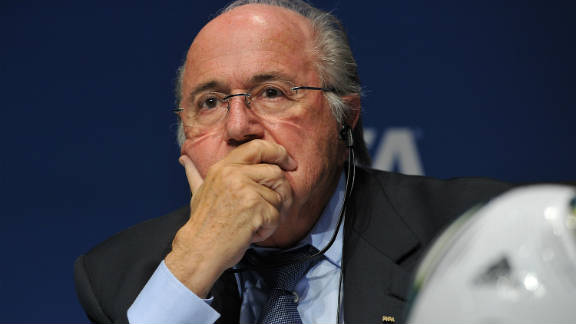 FIFA president Sepp Blatter's 2011 remarks on racism in football -- that on-pitch abuse can be solved with a handshake -- were just one of a series of controversial quotes to be attributed to the head of world soccer.