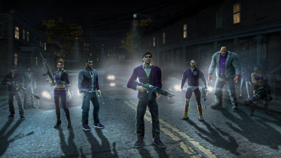 """""""Saints Row the Third"""" is full of over-the-top thrills that offer tongue-in-cheek, fast-paced fun."""