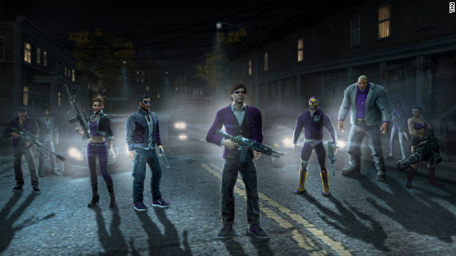 """Saints Row the Third"" is full of over-the-top thrills that offer tongue-in-cheek, fast-paced fun."