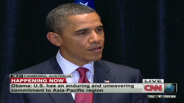 Obama stresses Asia-Pacific importance