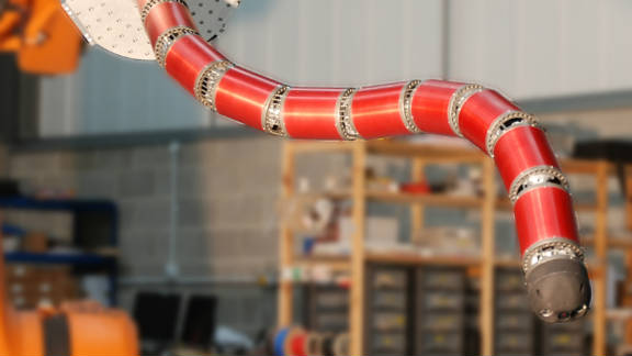 "The snake-arm robot can ""reach the unreachable"" say its creators."