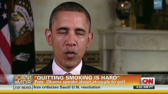 Obama featured in anti-smoking ad