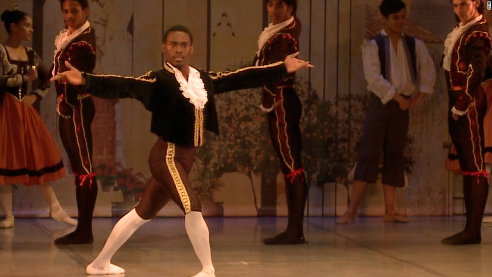 Ndlovu says he had to overcome racial stereotypes in order to succeed in his chosen profession, as well as the disparaging jibes of his school friends who made fun of his passion for ballet.