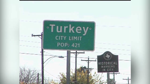 PETA wants Turkey, Texas, to change name