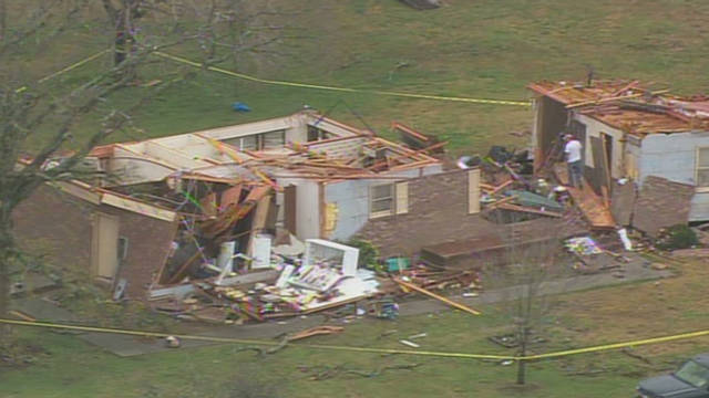 SC tornado leaves behind lots of debris