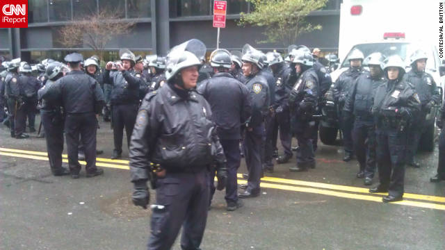 police at OWS