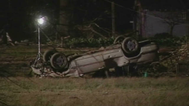 Storms kill several across the South