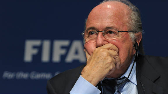 FIFA President Sepp Blatter pictured at a press conference in October.