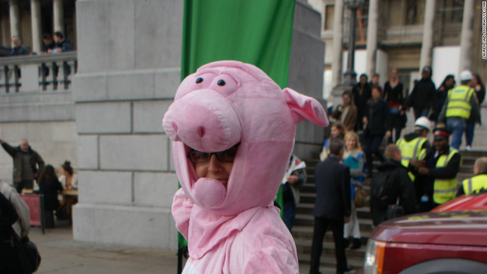 "Sarah Allan from environmental group Friends of the Earth says: ""In the UK we waste 16 million tons of food, we burn it or we send it to landfill sites and actually it's suitable for human consumption. And a lot of what isn't suitable, is suitable and legal to feed to animals and the rest can be for composting and anaerobic digestion."""