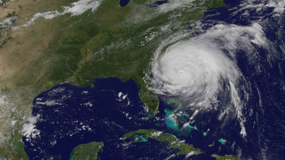 Hurricane Irene gathers speed and strength as it heads towards the East Coast of the U.S. at the end of August. Tropical Storm Lee followed shortly after in early September. Both were responsible for severe flooding in the northeast region of the U.S. says the WMO.