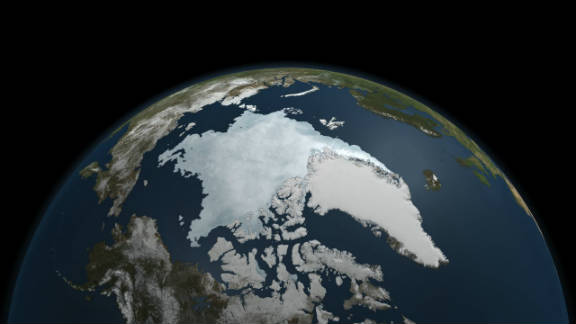 The last five years have included the five lowest extents of sea ice in the Arctic since records began in 1979, according to NASA, with much of that trend being caused by global warming.