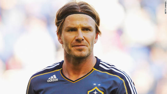 Former England captain David Beckham joined the Galaxy after four years with Real Madrid.