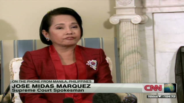 Fmr. Philippine president Arroyo charged