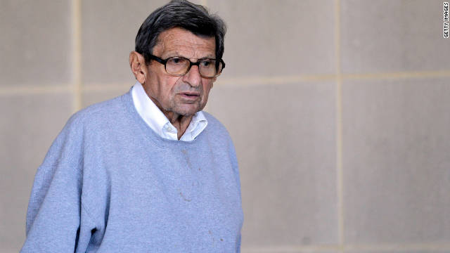 Paterno talks about sex abuse case