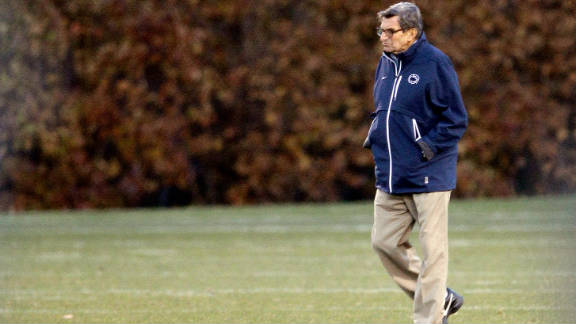 Joe Paterno lost his job as Penn State's head coach after it was learned that he failed to inform police of reports of child sex abuse.