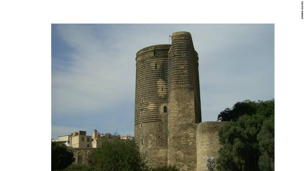 "Dinara Holmes of Silver Springs, Maryland took this image of Maiden Tower in Baku's Walled City in 2008. The ancient structure has become an integral part of Baku's ""mystique"" and ""legend,"" she says."
