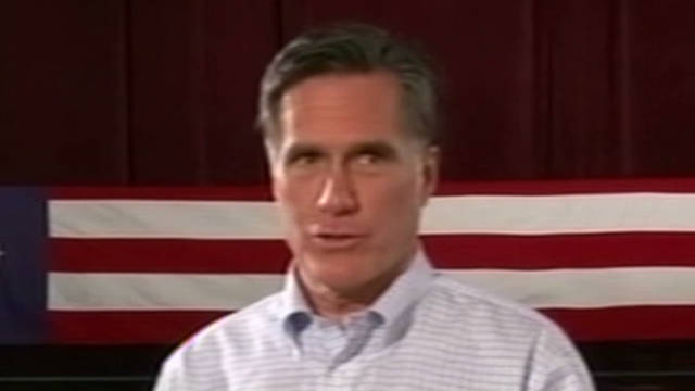 Romney: I reject debt deal tax hikes