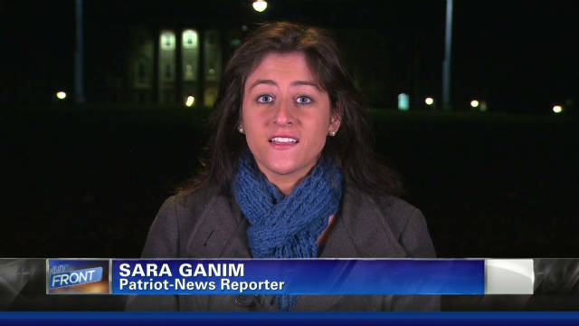 Reporter Sara Ganim, 24, helped break the story of the Penn State child sex abuse scandal.