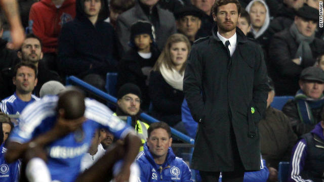 Andre Villas Boas has cut a lonely figure on the Chelsea touchline this season as his side have struggled for form.