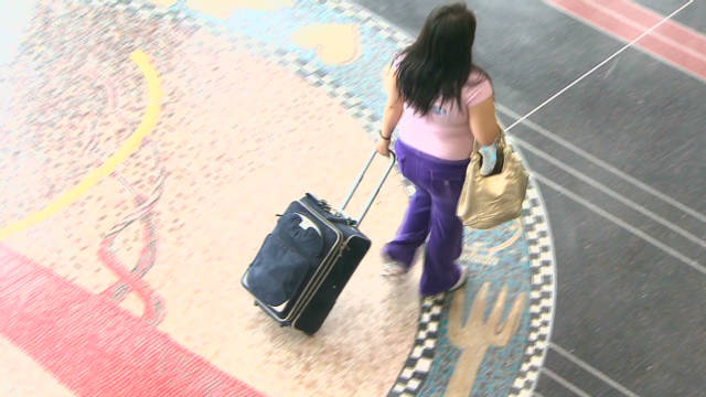 Bill would limit checked baggage fee