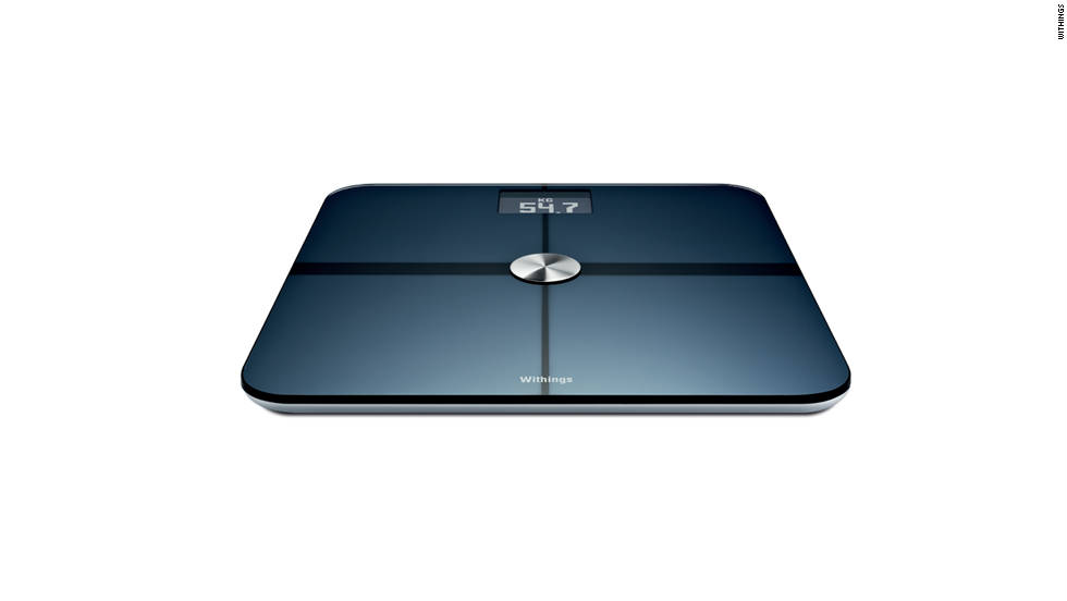 "While we don't often recommend buying someone a scale for Christmas, this one is pretty cool. The <a href=""http://www.withings.com/en/bodyscale"" target=""_blank"">Withings Body Scale</a> measures you and up to seven other users in terms of weight, muscle mass and fat mass. It also shows your body mass index (BMI) in comparison to the reference ranges in each profile, all of which can be viewed with the free Withings app on an iPhone, iPad or Android device or from any Web browser through its Wi-Fi capabilities. Cost: $159.00."