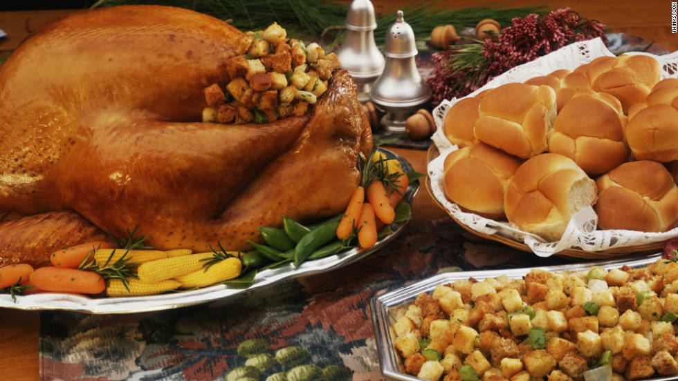 "Thanksgiving means family -- and food. Despite our best intentions, good eating habits are often forgotten during the holiday festivities. <a href=""http://walking.about.com/library/cal/blthanksgivingcalories.htm"" target=""_blank"">Estimates</a> <a href=""http://articles.nydailynews.com/2010-11-23/entertainment/27082088_1_calories-thanksgiving-sweet-potatoes"" target=""_blank"">clock</a> the calorie count of the average holiday dinner between 3,000 and 4,500 calories. There's good news, though: With these tips from <a href=""http://www.tops.org/default.aspx"" target=""_blank"">TOPS</a>, a nonprofit weight loss organization, Thanksgiving dinner won't be a total diet downfall."