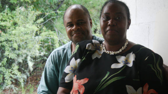 """Carl and Brenda Byrth work to spread awareness about HIV/AIDS in their community. """"You just get tired of standing on the sidelines, watching everything go by, knowing that you can do something to try to help,"""" Carl says."""