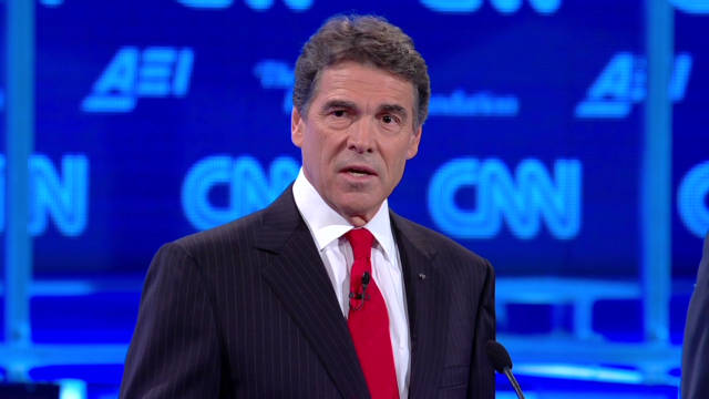 Perry slams Obama over military